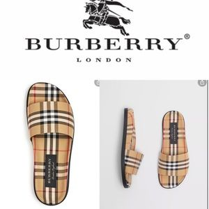 Burberry Ashmore slippers